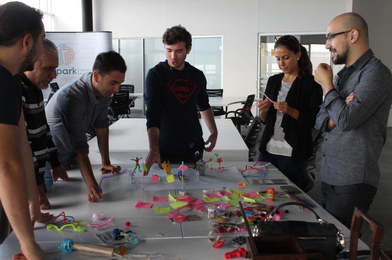 İzmir Teknopark Design Thinking Eğitimi