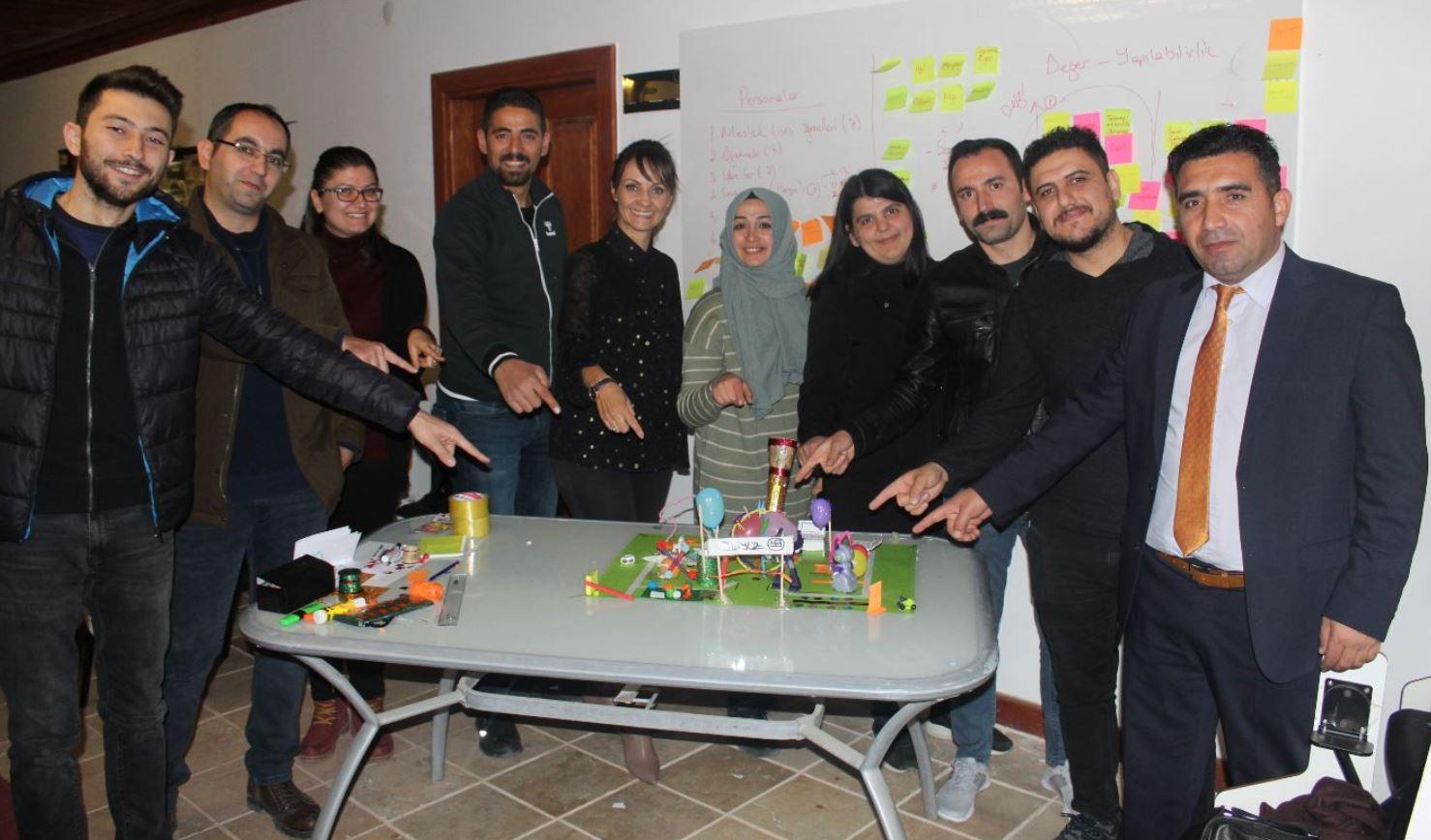 Yozgat Milli Eğitim Müdürlüğü&Oran Kalkınma Ajansı Design Thinking Eğitimi