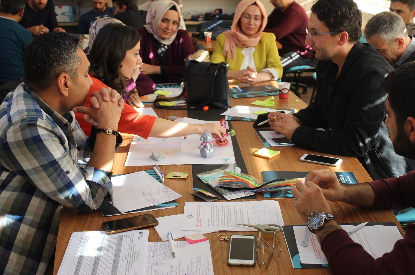 Kayseri Milli Eğitim Müdürlüğü&Oran Kalkınma Ajansı Design Thinking Eğitimi